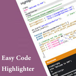 Easy Code Highlighter