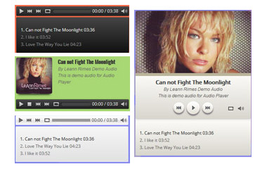 Vina HTML5 Audio Player