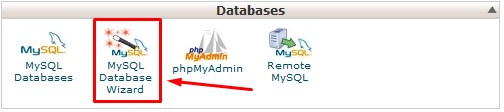 create-remove-mysql-database-cpanel